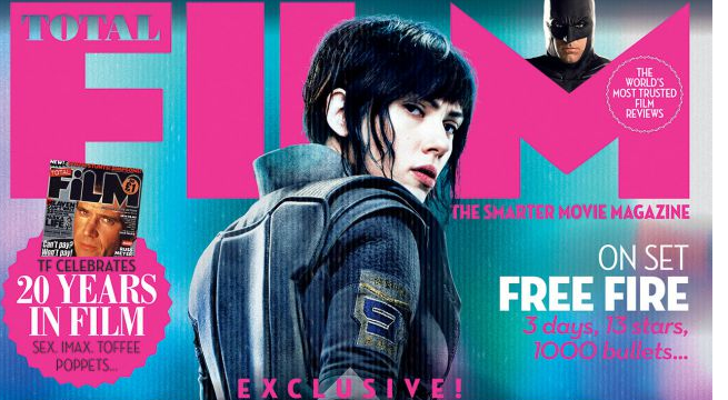 Ghost In The Shell Covers Total Film