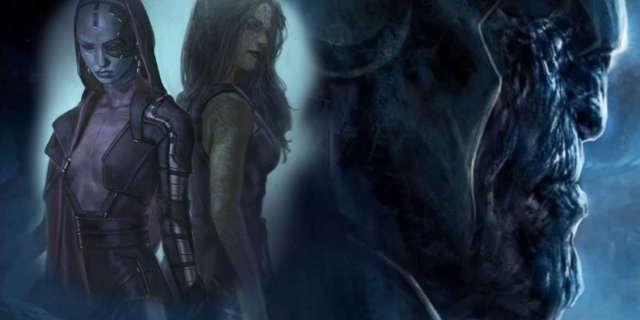 Guardians Galaxy 2 How Thanos Affects Gamora Nebula