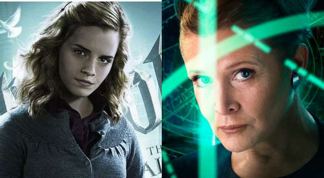 Harry Potter's Emma Watson Compares Hermione Granger To Princess Leia