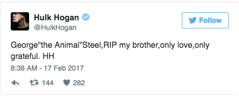 Hogan Tweet