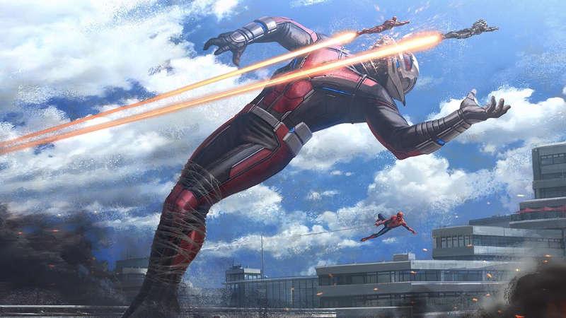 Iron Man vs Giant Man