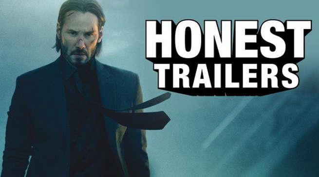 John Wick Gets an Honest Trailer