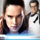 Josh Gad Celebrities Ambush Daisy Ridley Star Wars 8 Last Jedi Spoilers