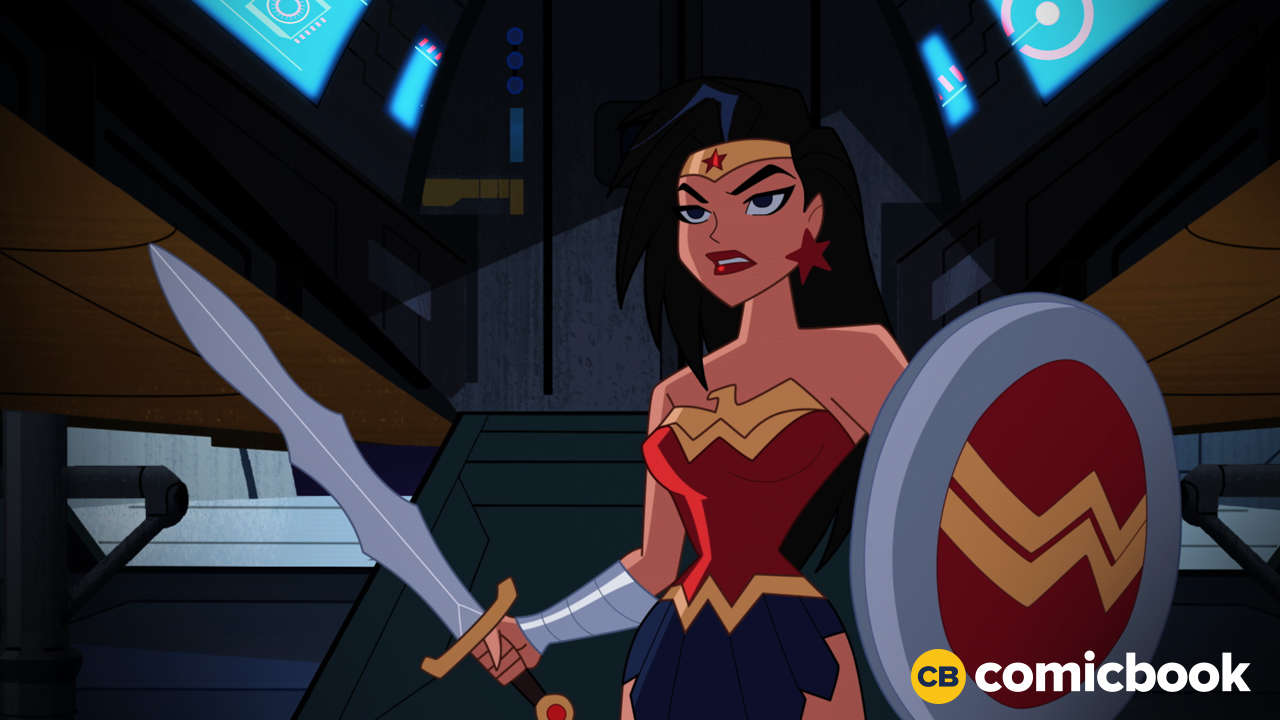 Justice league action for Galactic wonder
