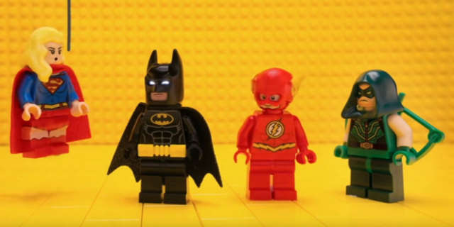 LEGO Batman CW DC TV