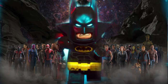LEGO Batman Movie Marvel Easter Eggs Iron Man Sucks