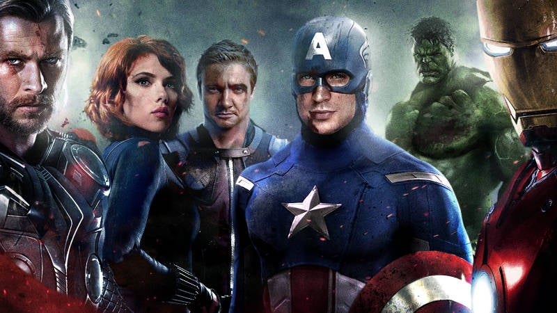 Old Oscar Nominations - The Avengers