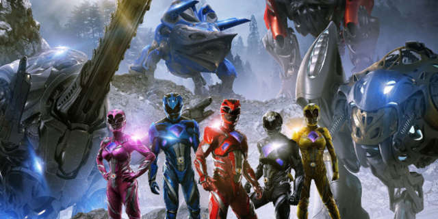 power rangers megazords new international poster