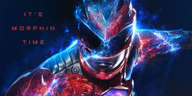 Power Rangers Movie Character Posters 2017