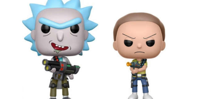 rick and morty pops