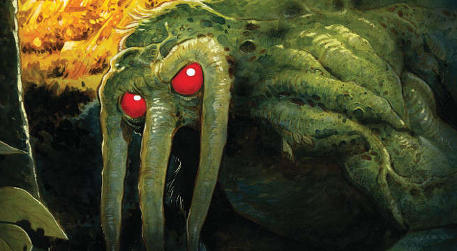 RL Stine Debuts Marvel Man-Thing Preview