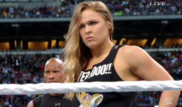 Does Ronda Rousey Have a Match for WrestleMania 34?