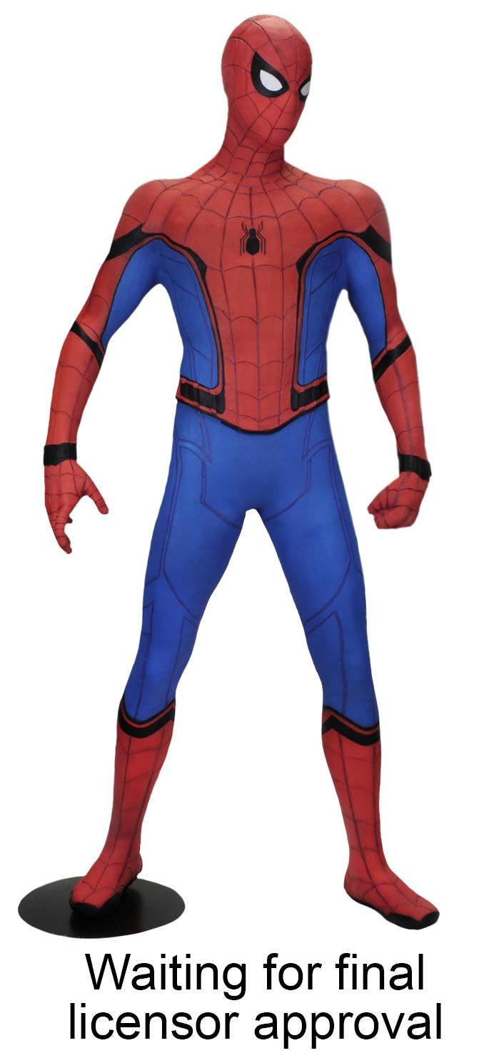 Neca Announces Life Homecoming Spider Man Statue