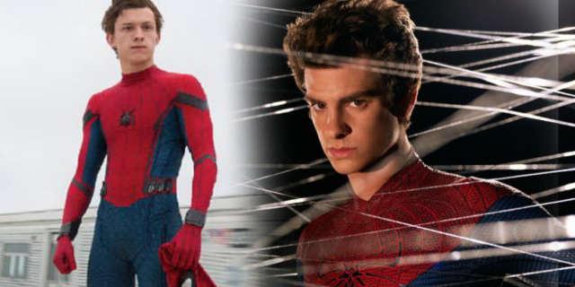 spider-man tom holland andrew garfield meet first time