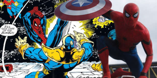 spider-man tom holland wears beanie avengers infinity war