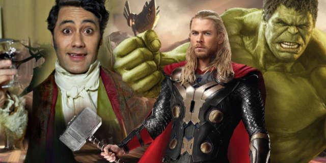 Taika Waititi Cameo in Thor Ragnarok