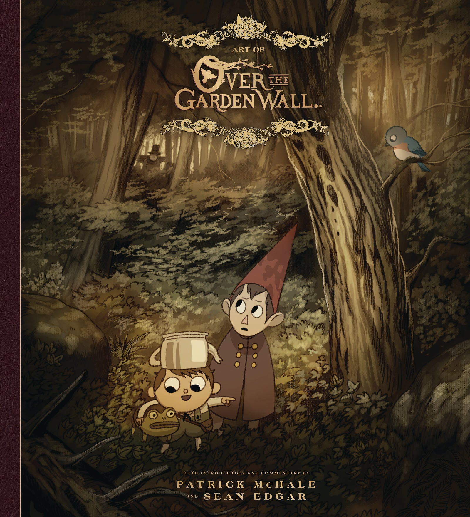 Garden Wall Art exclusive: dark horse announces over the garden wall art book