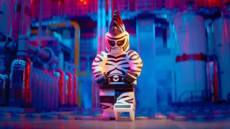 The LEGO Batman Movie Villains - Zebra Man