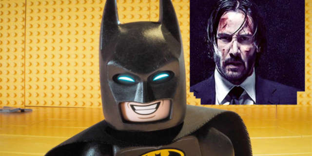 The LEGO Batman Movie vs John Wick 2