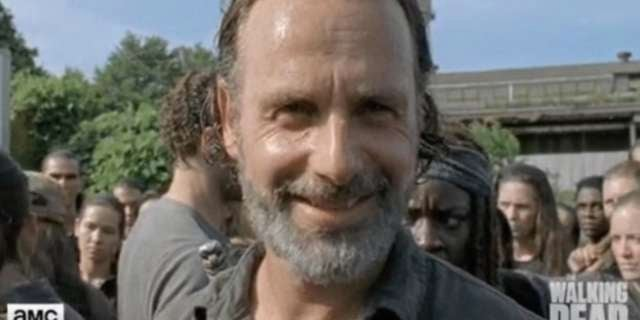 twd rick smiling