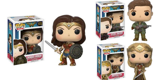 wonder woman funko pops