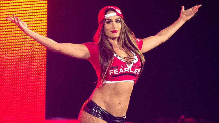 Fan Photo Catches Nikki Bella Backstage at RAW