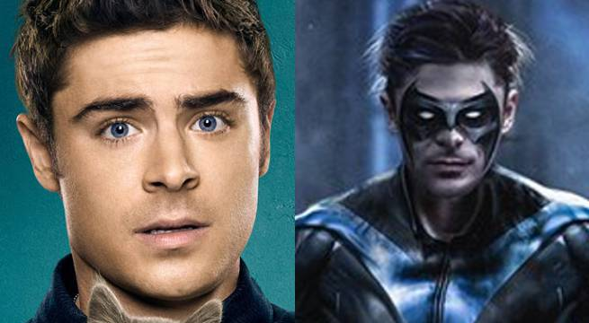 Here's What Zac Efron Could Look Like As Nightwing