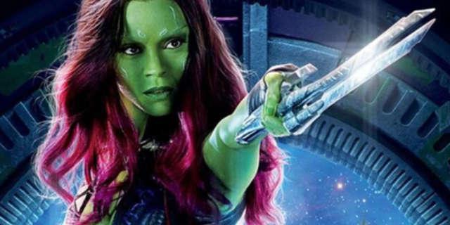 Zoe Saldana Reveals Avenger Gamora Fights