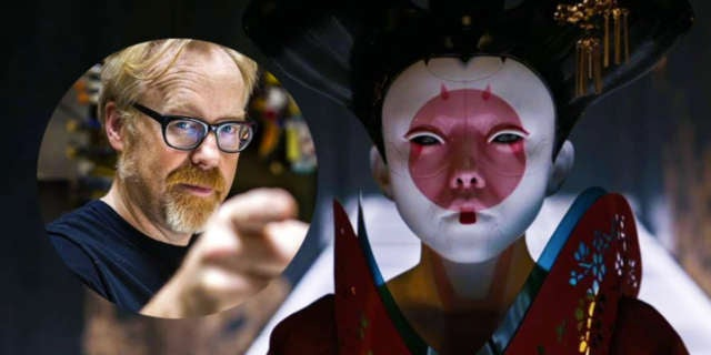 adam savage ghost in the shell