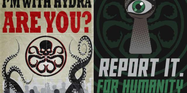 agents of shield hydra propaganda posters