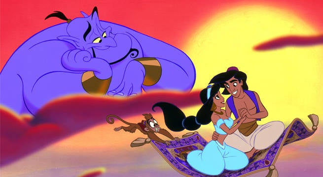 Disney's Live-Action Aladdin Film Will Be An Explosive Musical