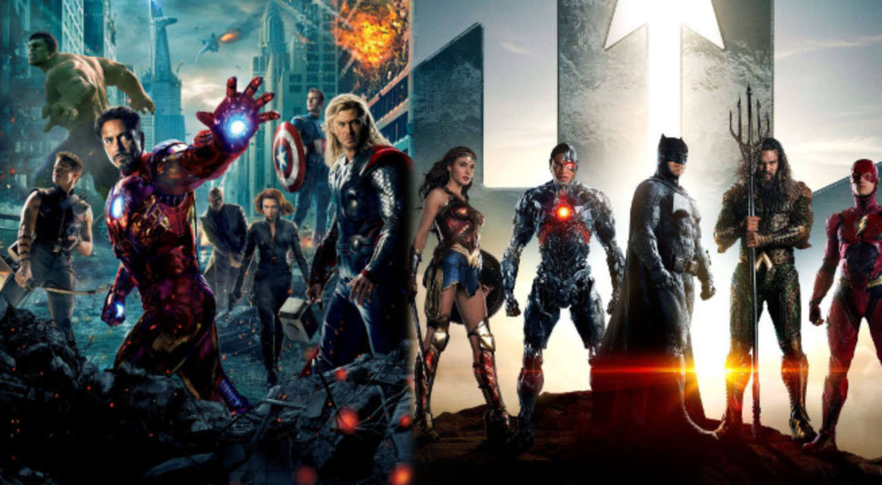 watch the avengers trailer in the style of justice league - Avengers Vs Justice League