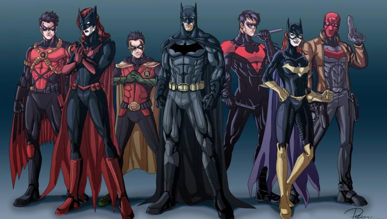 Batman Movie Universe Characters DCEU