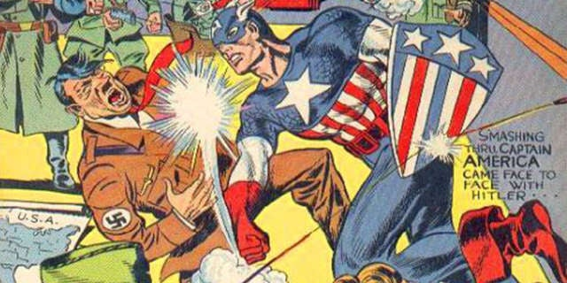Captain-America-1-Punching-Hitler