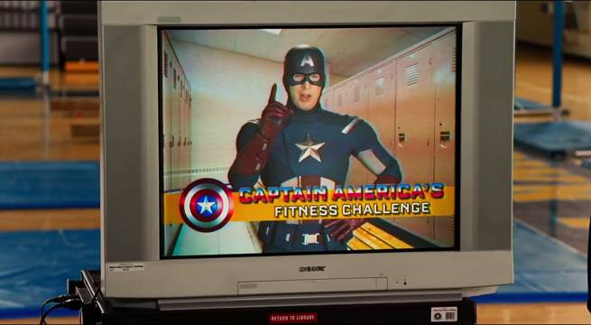 Captain America Spider-Man Homecoming