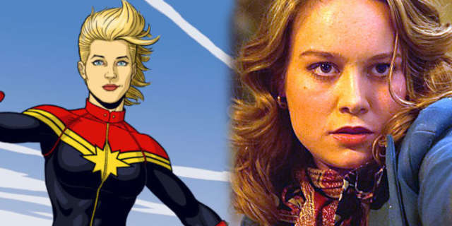 captain marvel brie larson growing up