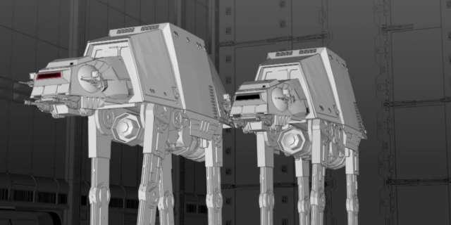 Construction Progresses on Star Wars-Themed Lands - Disney Parks [HD] screen capture