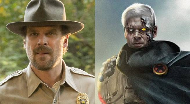 What Stranger Things' David Harbour Could Look Like As Cable In Deadpool 2