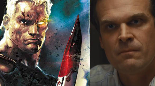 Deadpool 2: Stranger Things Star David Harbour in Running to Play Cable