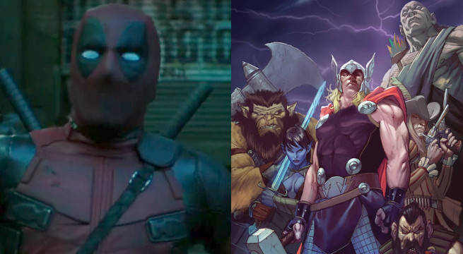 Does The Deadpool Logan Short Have A Thor Easter Egg?