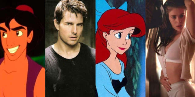 Disney Movie Characters Inspired by Celebrities