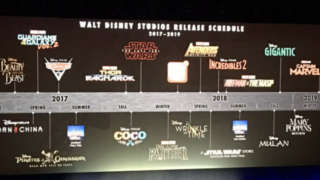 disney movie release schedule