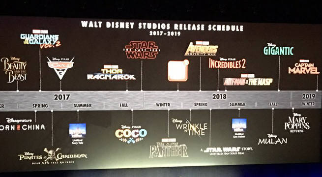 New disney movie release dates in Brisbane