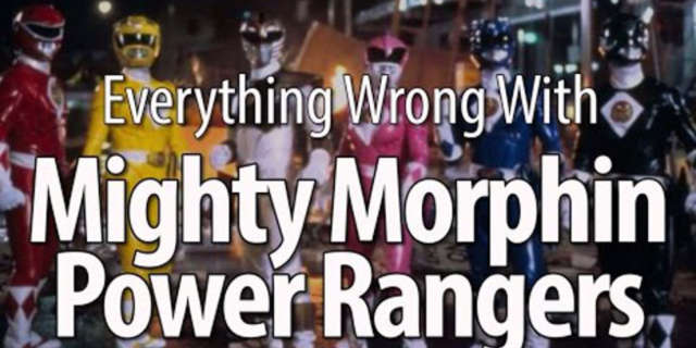 Everything Wrong With Mighty Morphin Power Rangers The Movie
