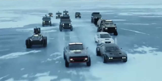 Fast Fate Furious 8 Best Action Scenes