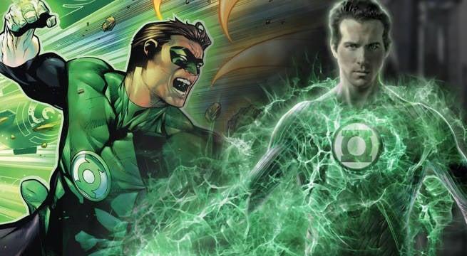 How They Created Ryan Reynolds Green Lantern Costume