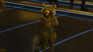 Guardians of the Galaxy vol. 2 Trailer 3 - Rocket Douchebags Winking Scene