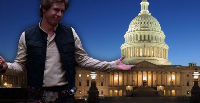 Political Attack Ad Shames Candidate For Han Solo Cosplay