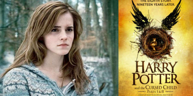 harry potter emma watson hermione granger cursed child film