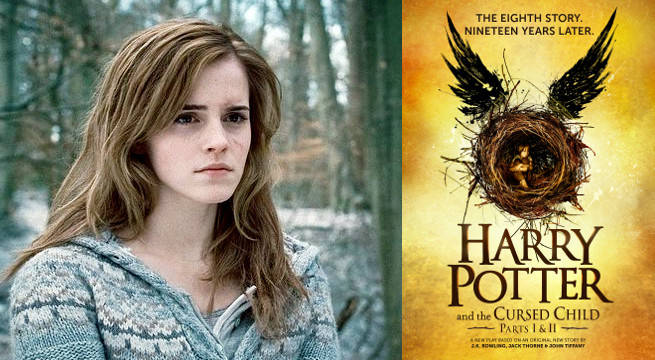 Harry potter emma watson on if she 39 d return for a cursed child film - Harry potter movies hermione granger ...